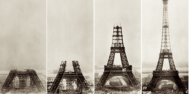 Eiffel Tower Completion