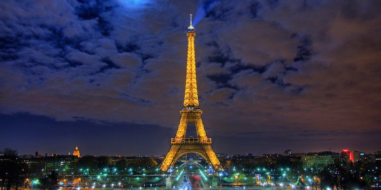 Dinner on the Eiffel Tower