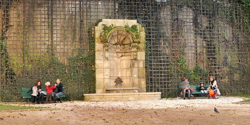 Fontaine de l'Abbaye de Saint-Germain-des-Prés