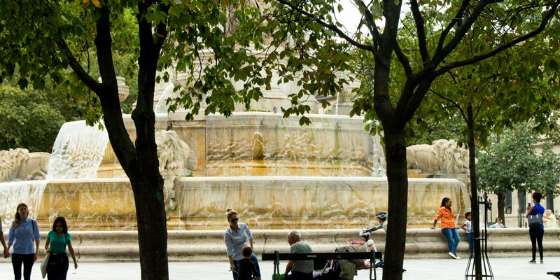 The Fountain on Place Saint-Sulpice