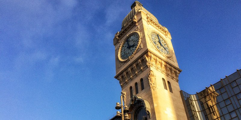 Gare de Lyon, photo by Mark Craft