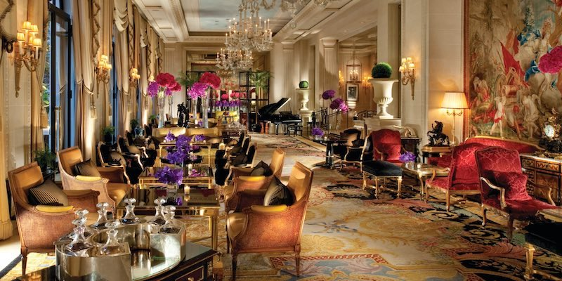 George V Hotel Lounge
