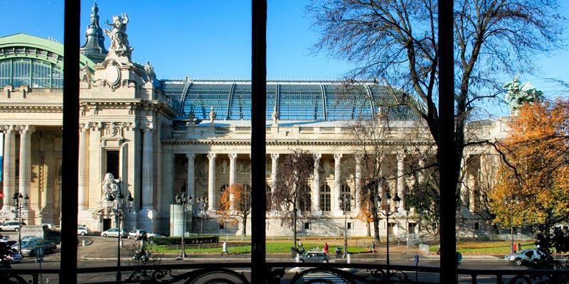 Grand Palais from Petit Palais, by Mark Craft