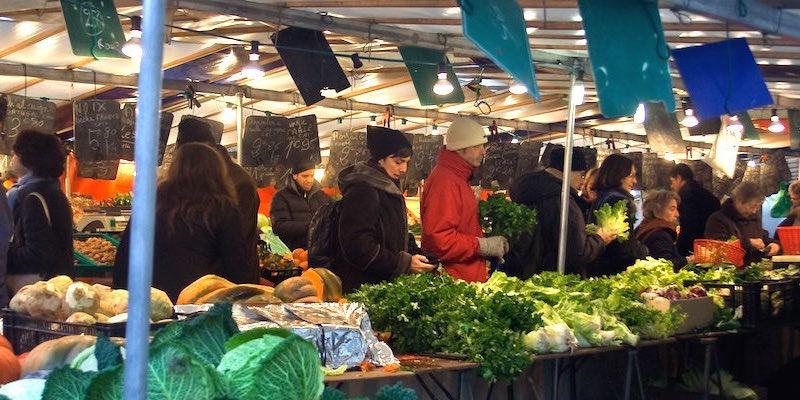 Grenelle Market, photo by Diane Shaskin