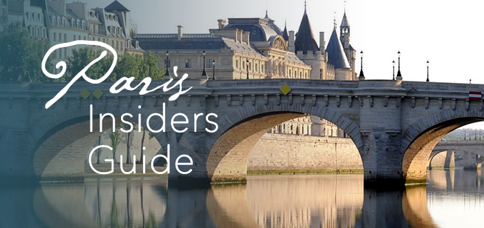 Paris Insiders Guide