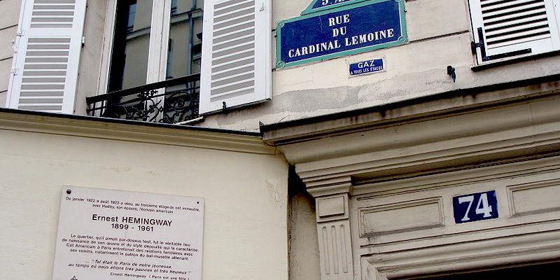 Rue Du Cardinal Lemoine Apartment, Wikimedia Commons, by Jebulon