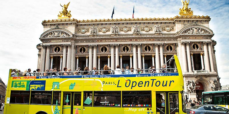 The 4 Routes of the Paris l'Open Tour