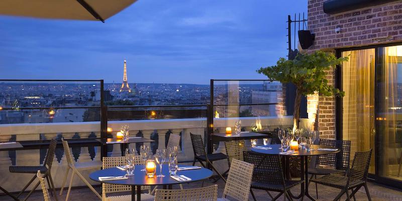 Le Terrass Hotel Montmartre
