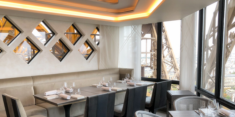 Restaurant Le Jules Verne, photo by Mark Craft