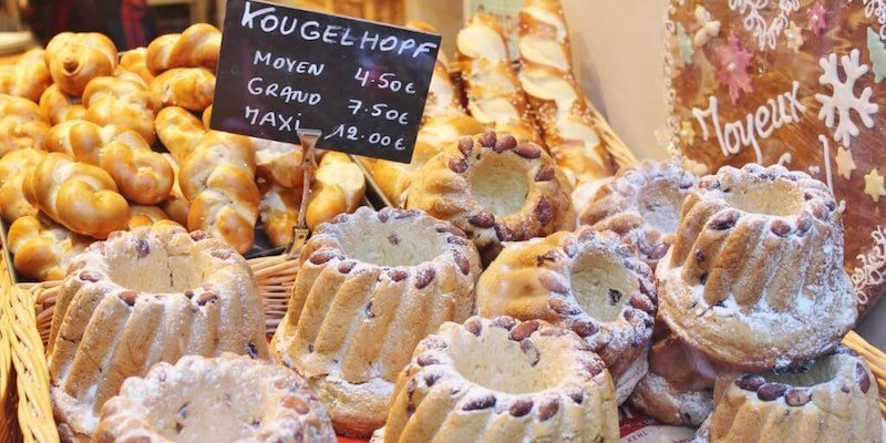 kougelhopf at Christmas Market
