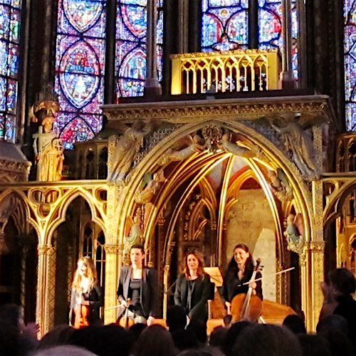 Sainte Chapelle Christmas Concert + Classic French Dinner