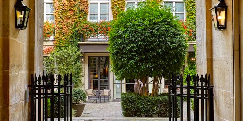 4 Paris Luxury Hotels