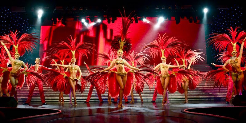 End the year at the Lido Paris