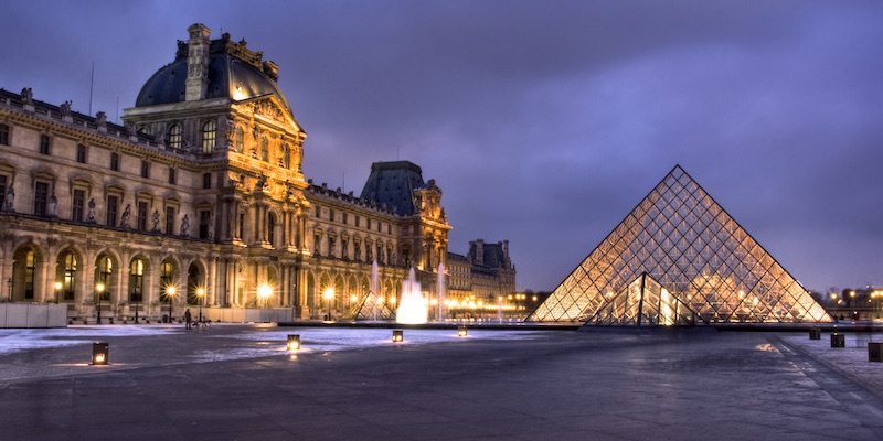 The Louvre a New Way