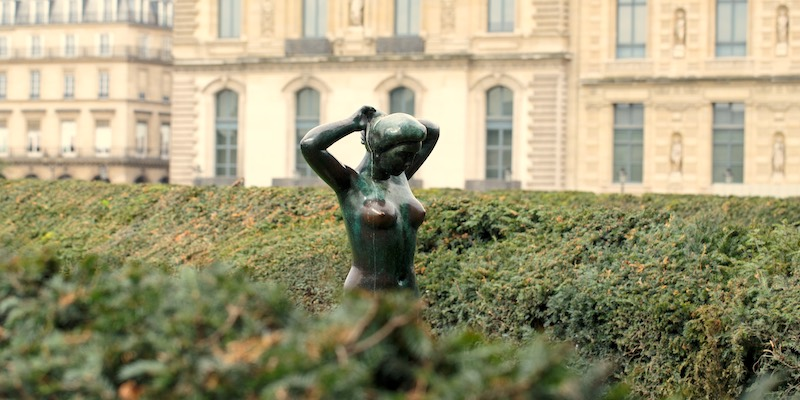 Maillol sculpture in Louvre Gardens