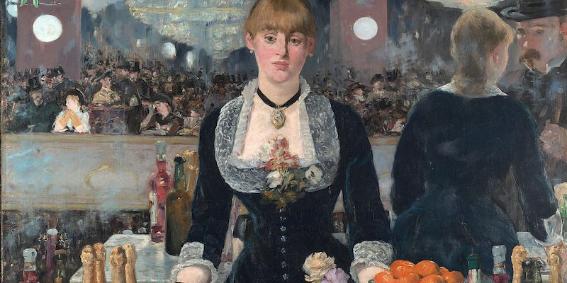 Folies Bergere, by Edouard Manet