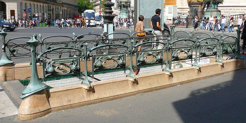 Metro Opera Entrance, Wikimedia, photo by MOSSOT
