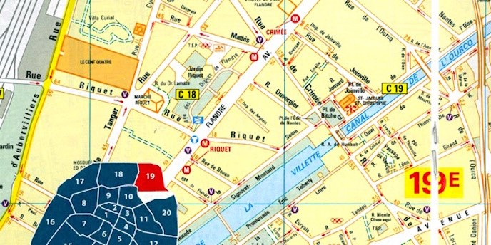 The Best Maps For Visitors Paris Insiders Guide - Map of paris arrondissements with metro