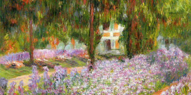 Monet's Garden by Monet