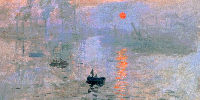 Impression, Sunrise, Monet