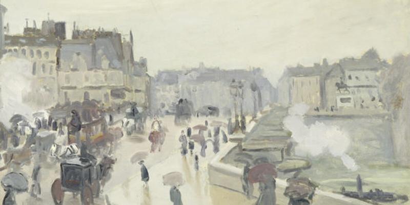 Pont Neuf, by Monet