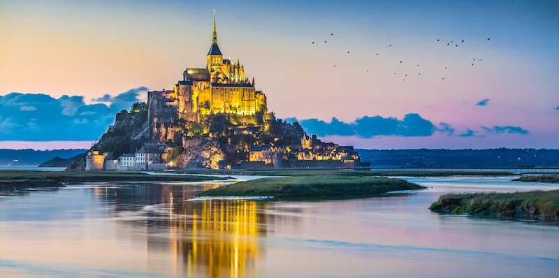 Two-Day Tours from Paris to Mont Saint-Michel
