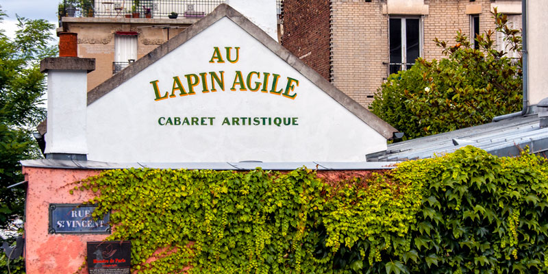 Le Lapin Agile, photo by Mark Craft