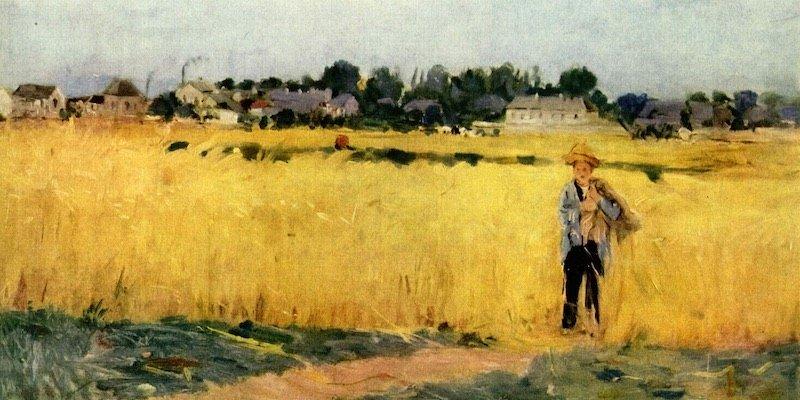 Morisot, Dans les Ble