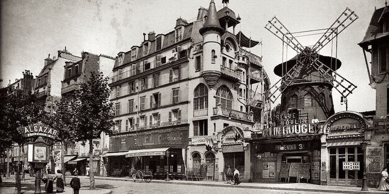 Moulin Rouge, 1890s