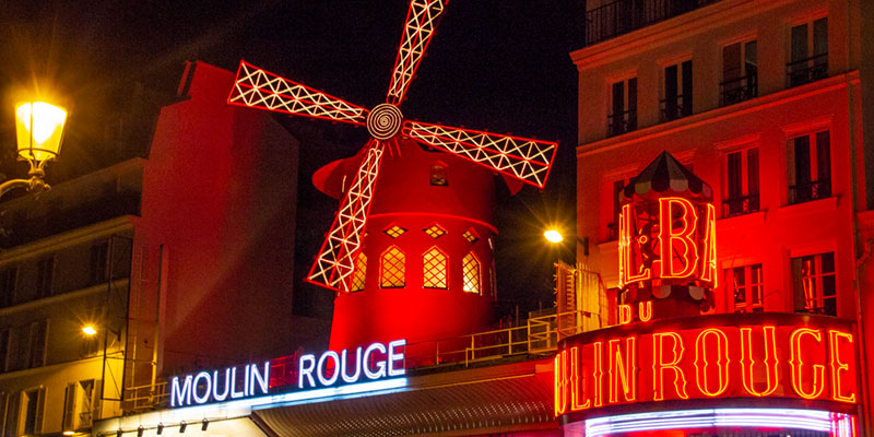 Dinner & Show at the Moulin Rouge