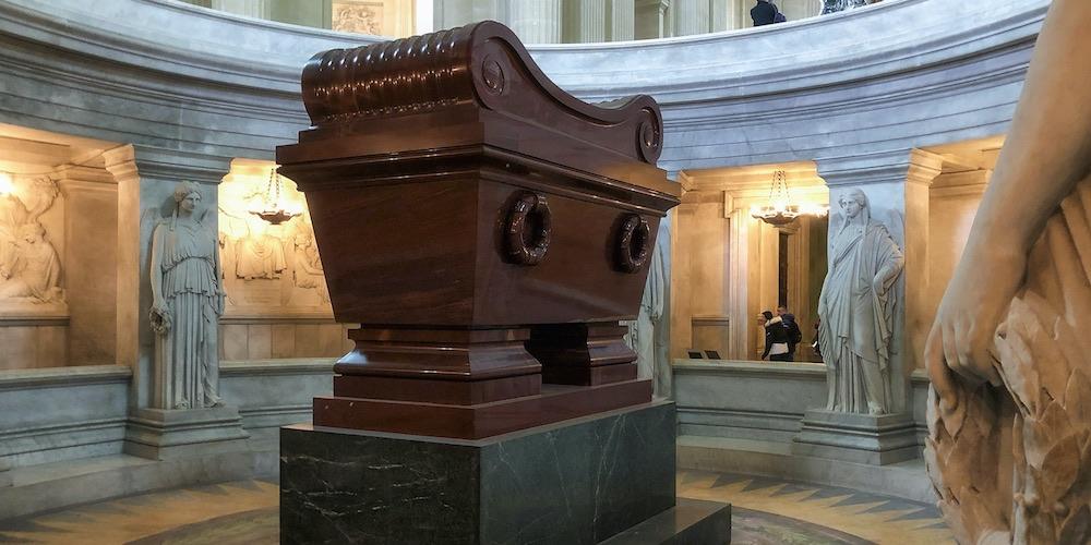 Napoleon's sarcophagus