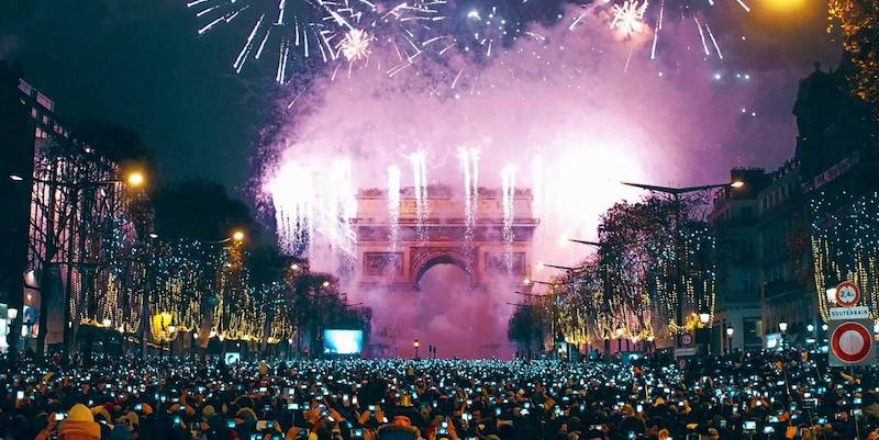NYE in the City of Light