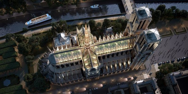 Notre Dame Roof Proposal