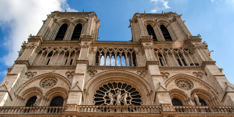 Notre Dame Towers, photo by Mark Craft
