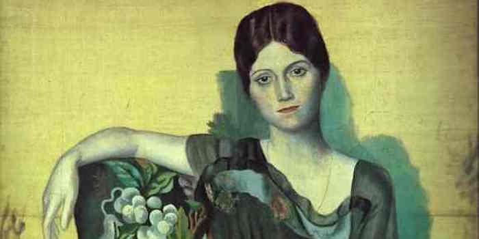 Olga Picasso 1917