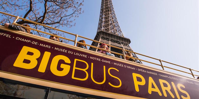 Open-Air Bus Pass + Skip-the-Lines Eiffel Tower