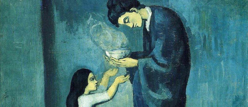 Picasso. Blue and Rose.