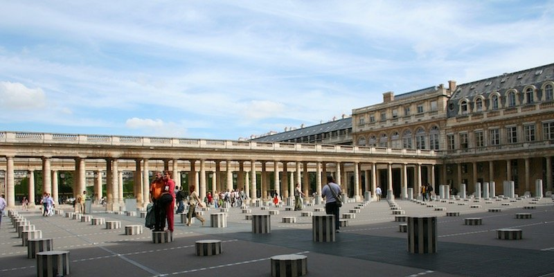 The Arcades of Palais Royal