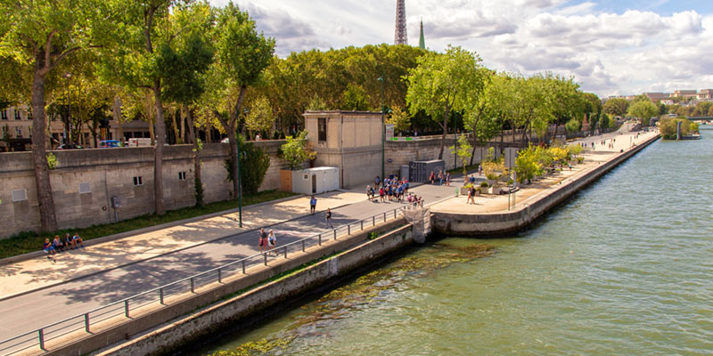 Parc Rives de Seine, photo by Mark Craft