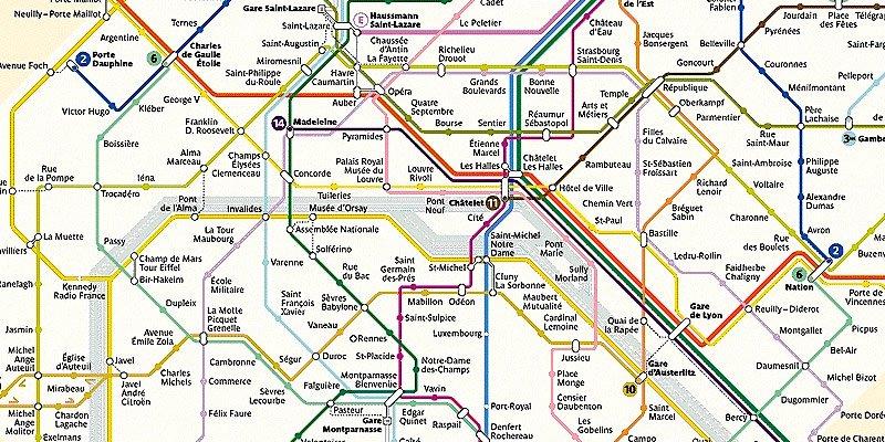 Metro & Bus Map Secret