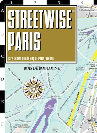 Streewise Paris Map