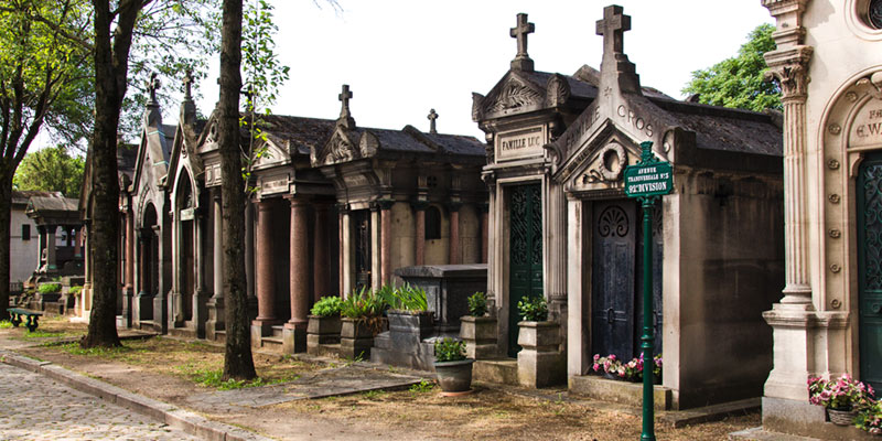 Pere Lachaise Cemetery, photo by Mark Craft