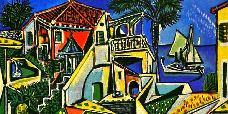 Picasso Decidedly Mediterranean