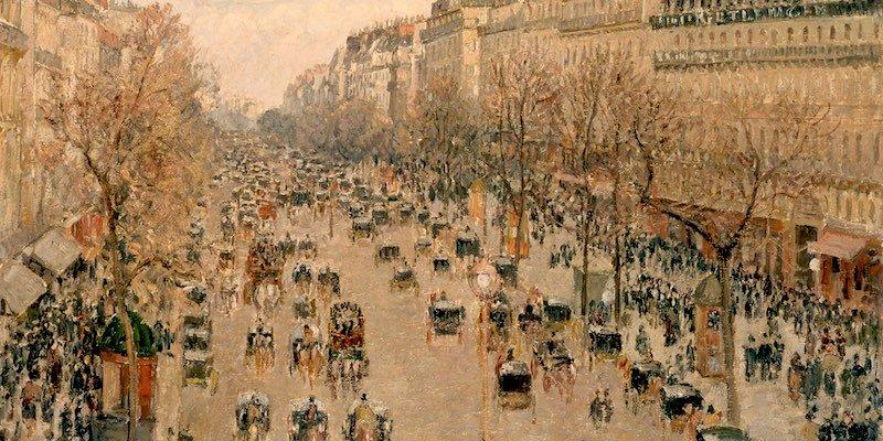 Pissarro, Boulevard Montmartre