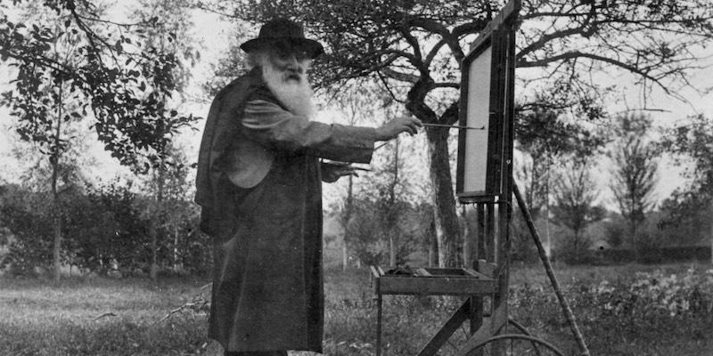 Camille Pissarro in 1900