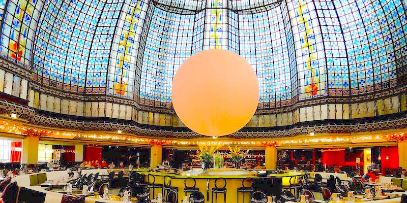 Where To Eat At Printemps