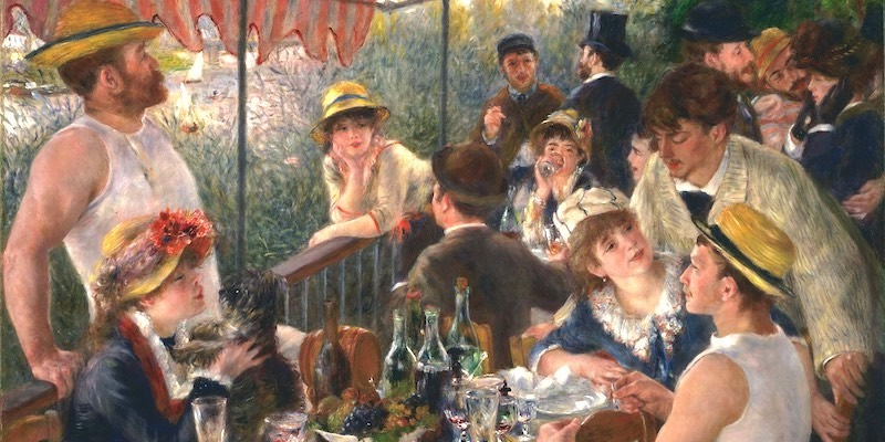 Renoir, The Luncheon of the Boating Party