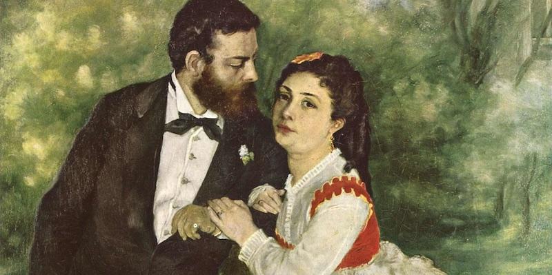 Renoir, Sisley & Wife