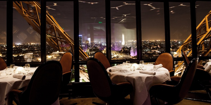 Eiffel Tower Resturants