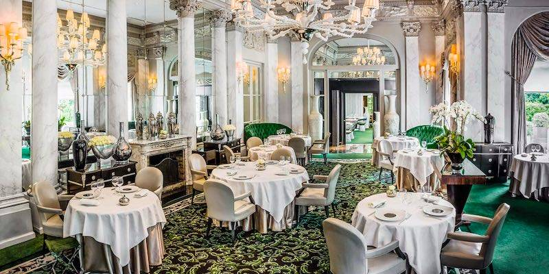 You Know Ve Made It In Life When Find Yourself Dining Beneath The Chestnut Trees On Terrace Of Napoleon Iii Pavilion Overlooking